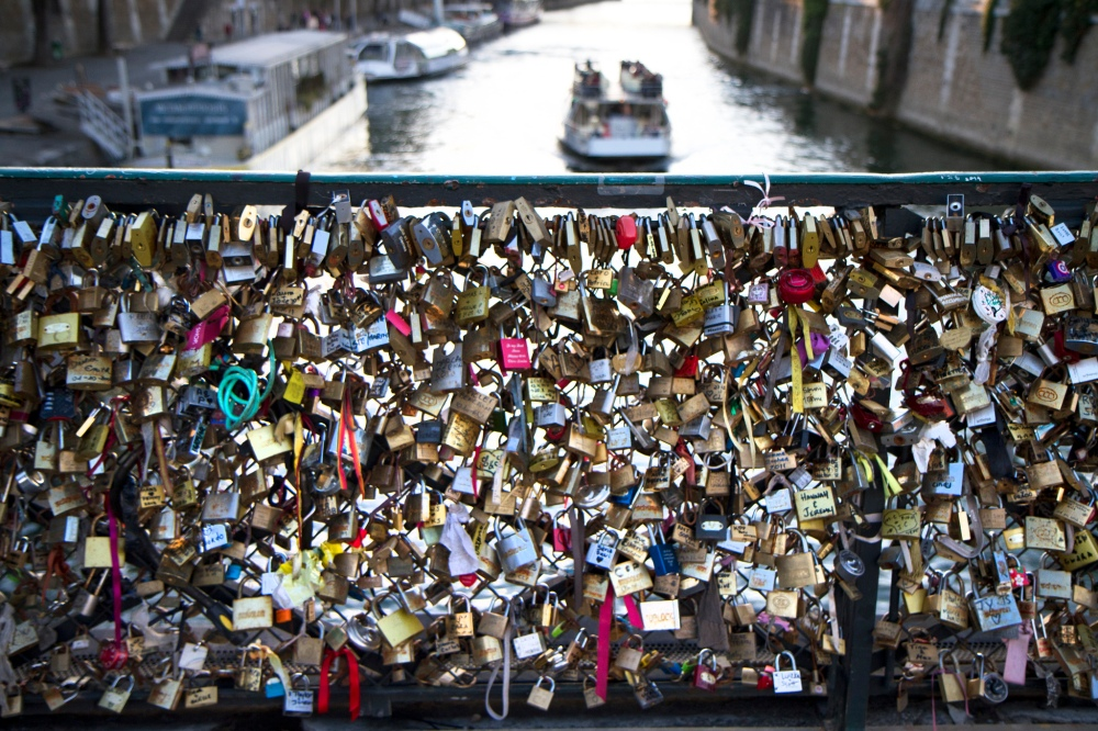 Love Locks, Pont de l'Archevêché