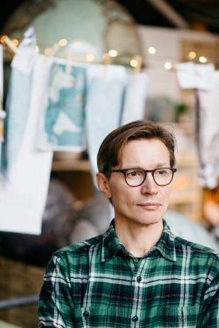 Peter Bellerby, founder of Bellerby & Co Globemakers. © Kasia Bobula
